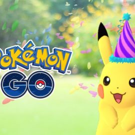 ¡Primer aniversario de Pokémon GO!
