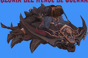 gloria héroe icono