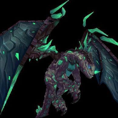 Cómo conseguir las Riendas del draco de piedra fosforescente