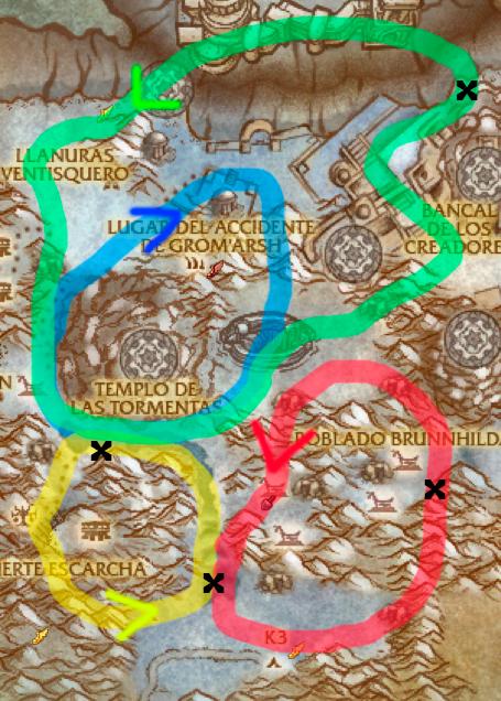 protodraco tiempo perdido ruta