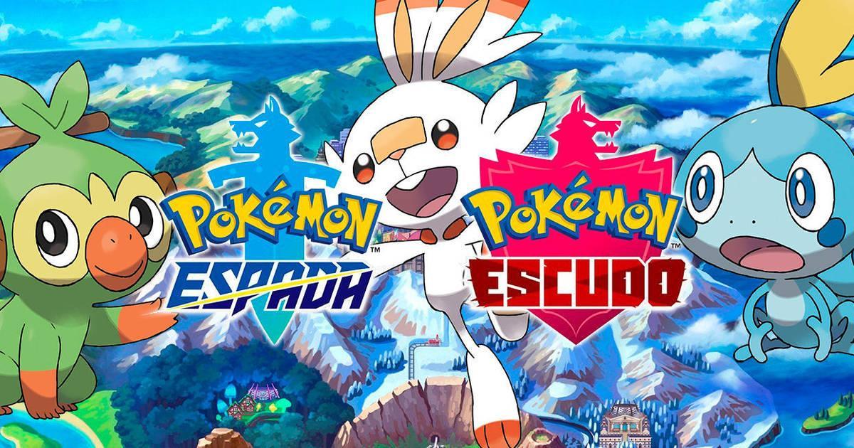 pokemon espada y pokemon escudo