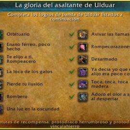 Guía del Gloria del asaltante de Ulduar