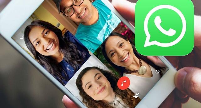 como hacer videollamada grupal whatsapp